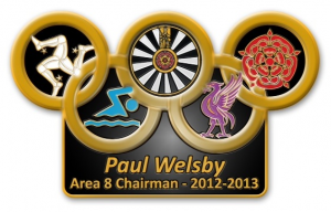 Area 8 Chairman Paul Welsby